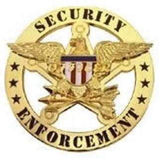 Security Enforcement - Circle/Eagle - Traditional - Gold-Hero's Pride