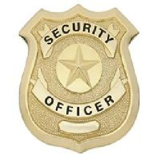 Security Officer - Traditional - Gold-