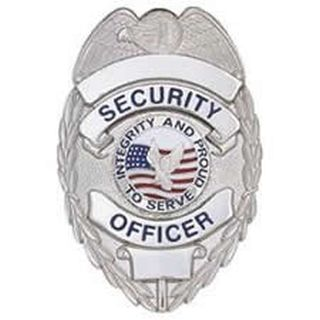 Security Ofcr. - Oval w/Integrity - Light - Nickel