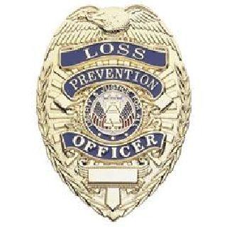 Loss Prevention Officer - Oval - Light - Gold-