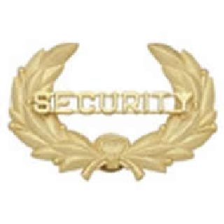 Security - Wreath - Gold - Cap-