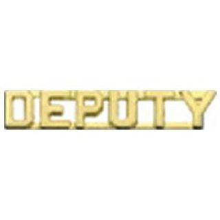 "Pairs - Deputy - 1/4"" - Gold"