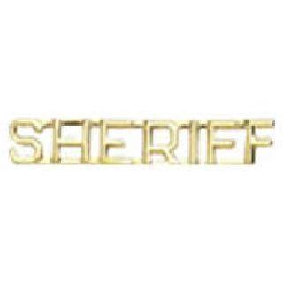 """Pairs - Sheriff - 1/4"""" - Gold-"""