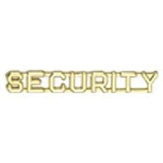 "Pairs - Security - 1/4"" - Gold"