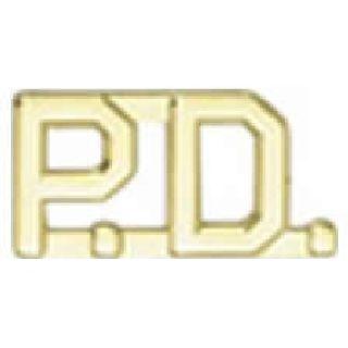 """Pairs - P.D. - 1/2"""" - Gold-"""