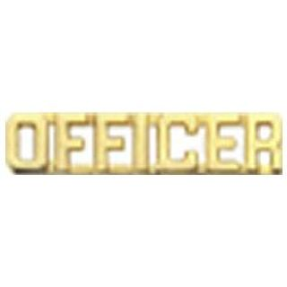 "Pairs - Officer - 1/4"" - Gold"