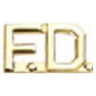 "Pairs - F.D. - 3/8"" - Gold-"