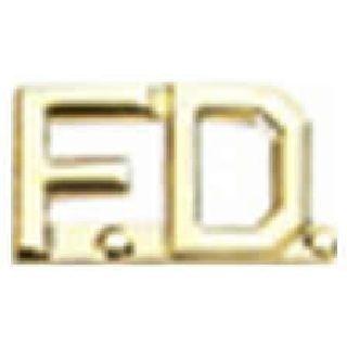 "Pairs - F.D. - 3/8"" - Gold-Hero's Pride"