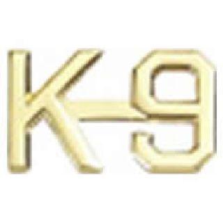 """Pairs - K-9 - 1/2"""" - Gold-"""