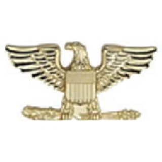 "Pairs - Colonel Eagle - Small - 3/4"" - 2 Clutch - Gold-Hero's Pride"