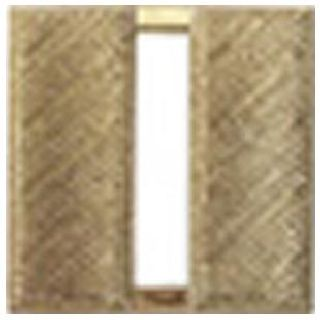"Pairs - Captain Bars - Corrugated - Mini 3/4"" - 2 Clutch - Gold"