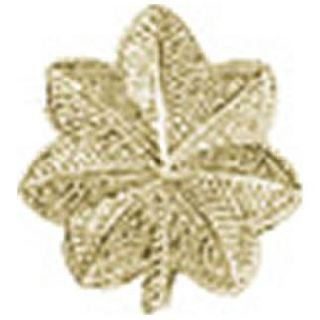 "Pairs - Major Leaf - Regular 1"" - 2 Clutch - Gold"