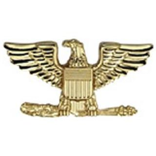 "Pairs - Colonel Eagle - Regular 1"" - 2 Clutch - Gold-"