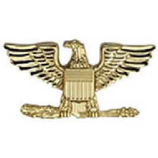 "Pairs - Colonel Eagle - Regular 1"" - 2 Clutch - Nickel"
