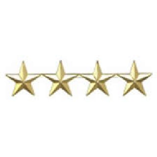 "Pairs - Four 1/2"" Stars - 2 Clutch - Gold-Hero's Pride"