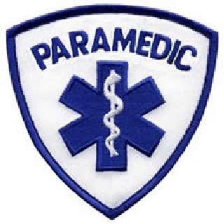 """Paramedic (In Blue) - 3-9/16 X 3-9/16""""-"""