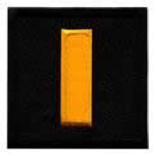 "Pairs - Lt - Dk Gold On Black - 1-1/2 X 1-1/2""-"