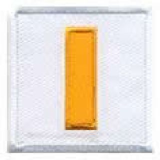 "Pairs - Lt - Dk Gold On White - 1-1/2 X 1-1/2""-"