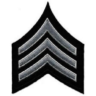 Lapd - Chevrons - Sgt 1-Hero's Pride