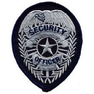 Security Officer - Silver/Dark Navy-Hero's Pride