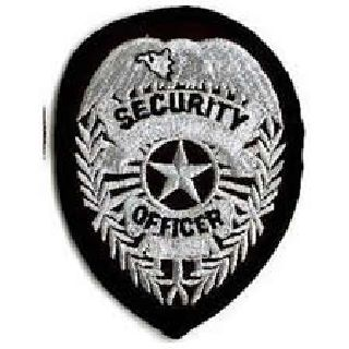 Security Officer - Silver/Black-Hero's Pride