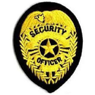 Security Officer - Med Gold/Black-Hero's Pride