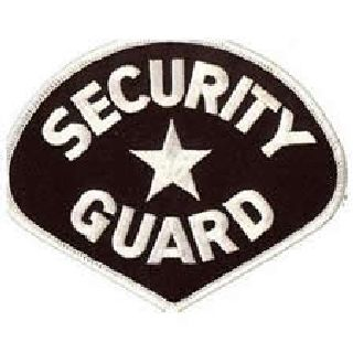 Security Guard - White/Black-