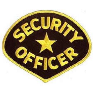 5134 Security Guard - Med Gold/Black-Hero's Pride