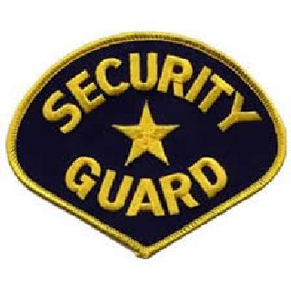 Security Guard - Med Gold/Navy-