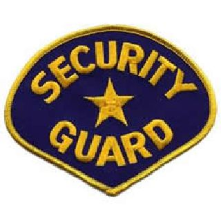 Security Guard - Med Gold/Royal-