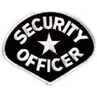 Security Officer - White/Black-