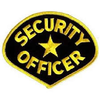 5144 Security Officer - Med Gold Black-