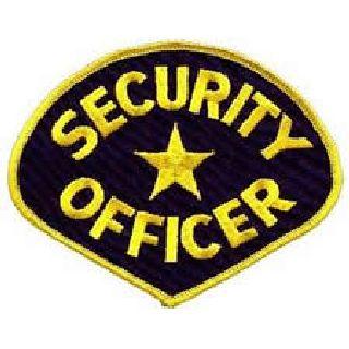 Security Officer - Med Gold/Royal Blue