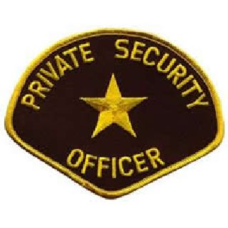 Private Security Officer - Med Gold/Brown-