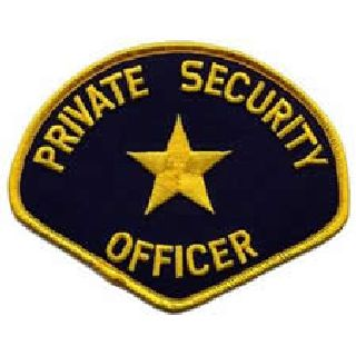 Private Security Officer - Med Gold/Navy-