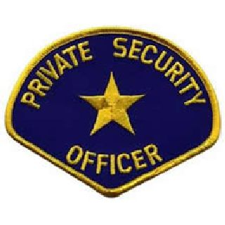 Private Security Officer - Med Gold/Royal-Hero's Pride