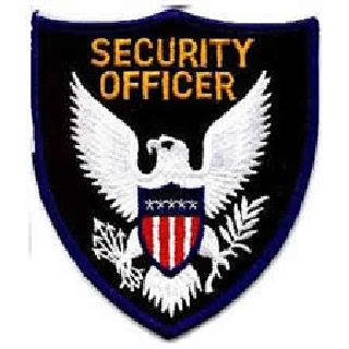 Security Officer - Royal Blue Border-