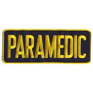 Paramedic - Med Gold/Navy - Backpatch