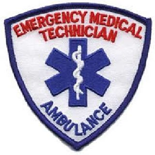 "Emergency Medical Technician w/Ambulance In Royal - 3-9/16 X 3-9/16""-"