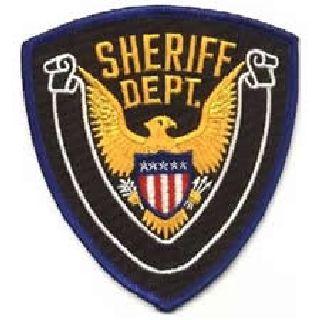 Sheriff Dept. - 4 X 4-3/8-