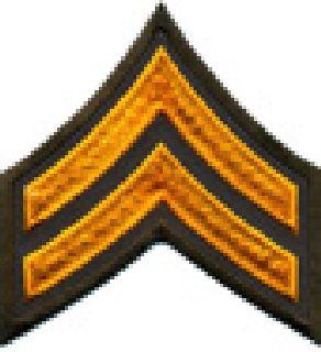 """Pr - Cpl - 3"""" Wide - Dk Gold On Brown-"""
