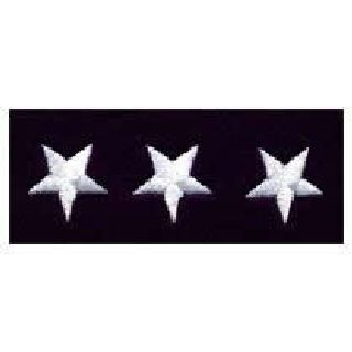 "Stars - Continuous - White On Dk Navy Felt - 5/8""-"