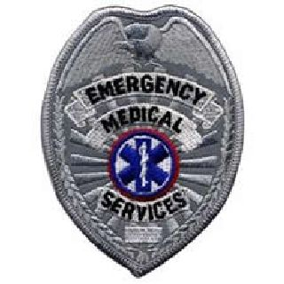 Emergency Medical Services-Reflective-Silver-Hero's Pride