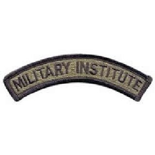 Military Institute - Subdued - 4-1/8 X 5/8-