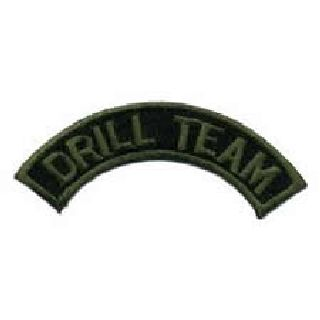 Drill Team - 3 X 1/2 (Subdued)-