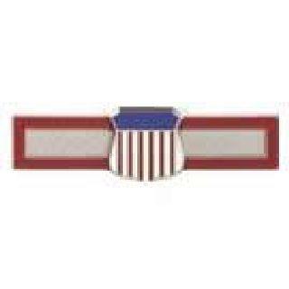 "Distinguished Cadet - Bar w/Shield - 1-3/4x1/2""-"