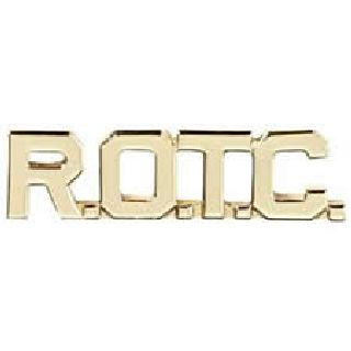 R O T C (Cut Out Letters - Brass)-