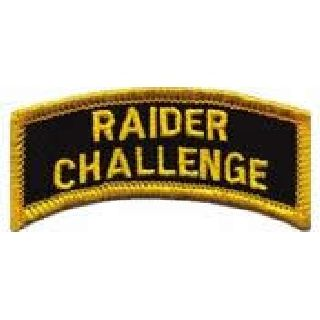 Raider Challenge - Arc - Full Color - 2-1/2 X 1-