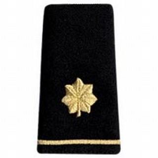 Pairs - Army Shoulder Loops - Men's Major-Hero's Pride