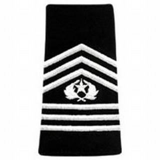 Pairs - Rotc Shoulder Loops - Women's Cmd Sgt Major-Hero's Pride